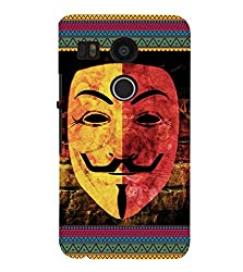 FUSON 3D Designer Back Case Cover for NEXUS5X D10116
