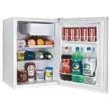 Haier HCR27W Compact Refrigerator, 2.7 Cubic Feet