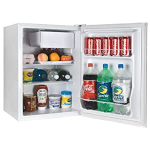 Haier HCR27W Compact Refrigerator, 2.7 Cubic Feet by Haier