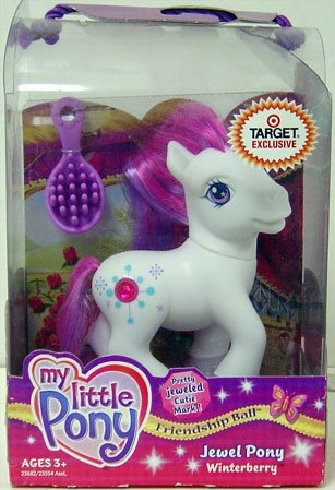 My Little Pony Jewel Pony Winterberry - 1