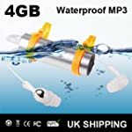 New 4GB Digital Waterproof MP3 Player...