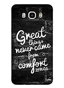Gobzu Printed Hard Case Back Cover for Samsung J7 2016 - Great Things