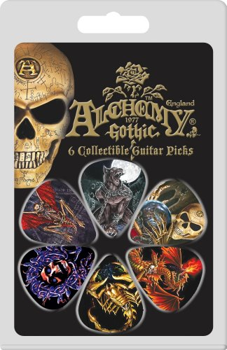 Hot Picks Alchemy Motion 6 Piece Guitar Pick