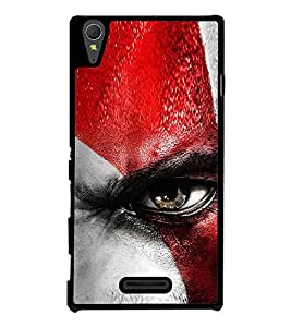 Angry Eye Back Case Cover for SONY XPERIA T3