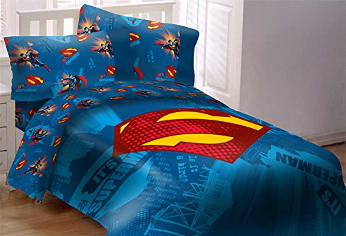 superman bedroom decor