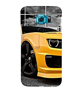 Amazing Car 3D Hard Polycarbonate Designer Back Case Cover for Samsung Galaxy S6 :: Samsung Galaxy S6 G920