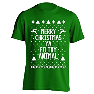 Merry Christmas Ya Filthy Animal Ugly Sweater Party Youth Shirt