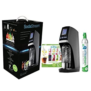 Soda Stream 1019112010 Black Revolution Soda Maker Starter Ki