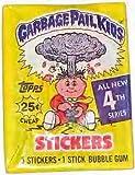 Garbage Pail Kids Trading Cards [Series 4] Original Wax Packs (1986)