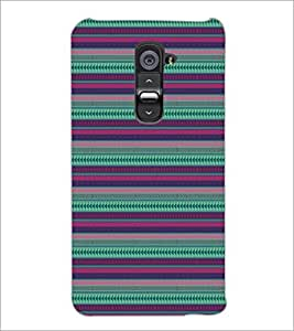 PrintDhaba Pattern D-5147 Back Case Cover for LG G2 (Multi-Coloured)