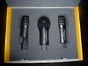 Audio Technica DR-Drum Drum Digital Reference All-Pro Microphone System