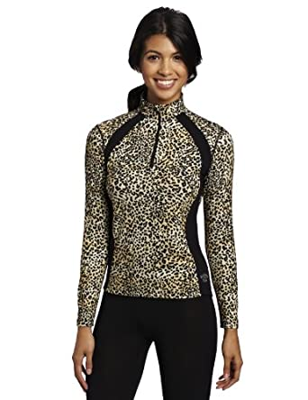 Buy Hot Chillys Ladies MTF Salsa Prt Zip-T by Hot Chillys