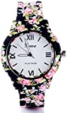 #2: peter india Analogue white Dial Watch women and girls