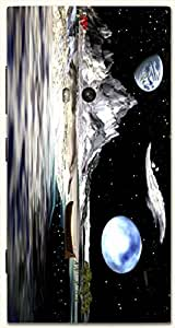Brilliant multicolor printed protective REBEL mobile back cover for Nokia Lumia 920 D.No.N-R-2862-N920