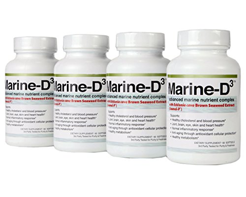 ★Marine-D3 ★ Superior Anti Aging Supplement Seanol-P With High Form Of Omega-3 ★ 340 Mg Of Calamarine ★ 1000 Mg Of Vitamin D3 ★ Only Formulation Of It'S Kind ★ 4 Month Supply ★ Outstanding Price ★ Great Reviews ★ 60 Day Money Back Guarantee ★ No Questions
