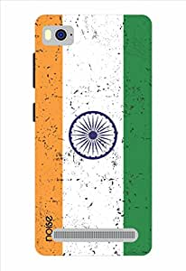 Noise Designer Printed Case Cover for Xiaomi Mi4i / Patterns & Ethnic / Rugged Indian Flag