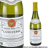 Amazon.co.jp【お酒】【夏季冷蔵品】 プレ・ペール・エ・フィス ラングドック ブラン オーガニック(白) 750ml [Poulet Pere & Fils Languedoc blanc orgnic][フランス]