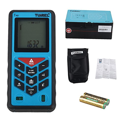 Electronic Distance Measuring Device : Laser distance measurer ft m handheld range finder