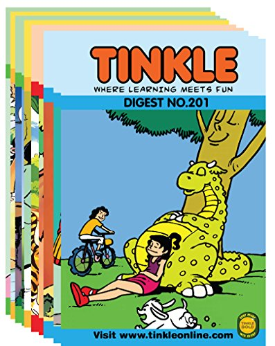 Tinkle Digest 10 in 1 (Vol - 201, 202, 203, 204, 205, 206, 207, 208, 209 & 210) Image