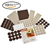 Do you love beautiful natural wood or hardwood flooring?Are you are sick and tired of multiple scratches on the floor after moving furniture and you can't stand that slam-bang clatter when you just move chairs?Using OUR PREMIUM FELT PADS you ...