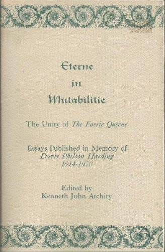 Eterne in Mutabilitie: The Unity of