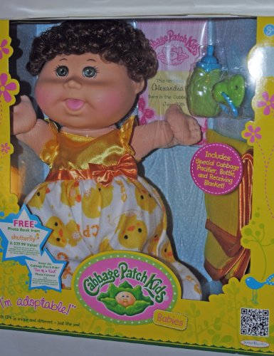 Cabbage Patch Babies (Auburn with Green Eyes) at Amazon.com