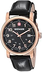 Wenger Men's Urban Classic Watch with Leather Bracelet
