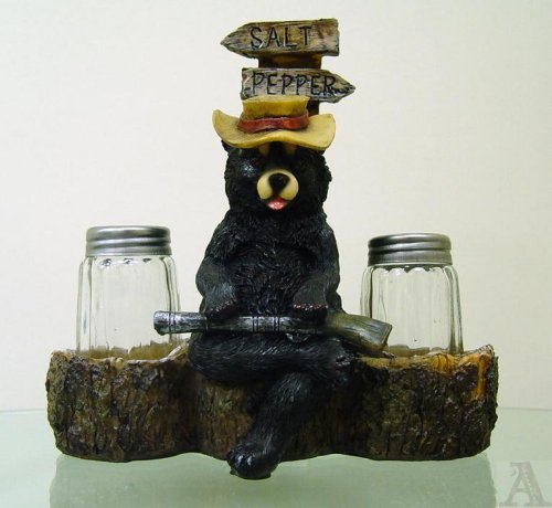 Bear Kitchen Salt & Pepper Shakers Cabin Lodge - Buy Bear Kitchen Salt & Pepper Shakers Cabin Lodge - Purchase Bear Kitchen Salt & Pepper Shakers Cabin Lodge (A.S.A.R., Home & Garden, Categories, Kitchen & Dining, Cook's Tools & Gadgets, Tool & Gadget Sets)