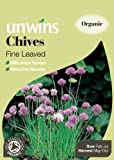 Unwins Organic Fine-Leaved Chives Seeds