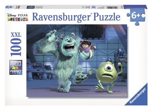 Ravensburger Disney Pixar: Sully, Mike & Boo (100-Piece) Puzzle