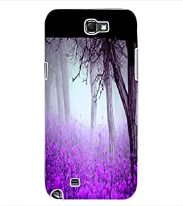 ColourCraft Forest View Design Back Case Cover for SAMSUNG GALAXY NOTE 2 N7100