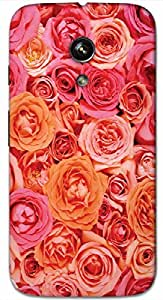 Timpax protective Armor Hard Bumper Back Case Cover. Multicolor printed on 3 Dimensional case with latest & finest graphic design art. Compatible with only Motorola Moto - G-1- 1st Gen. Design No :TDZ-21231