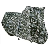 OXFORD AQUATEX WATERPROOF MOTORCYCLE BIKE COVER CAMO M