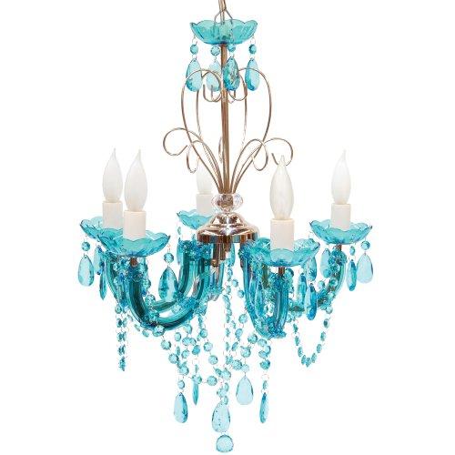 Turquoise chandelier light uk home decor myjihad molly 39 n me 5 light turquoise chandelier aloadofball Gallery