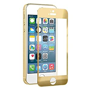 Mobidresss Golden Tempered Glass Front and Back Protector for iPhone 6