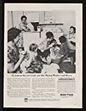 1964 Stadium Court Apartments Portland Oregon Maytag Washer Dryer Print Ad  ....