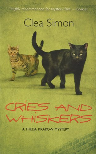 Cries and Whiskers: A Theda Krakow Mystery, CLEA SIMON