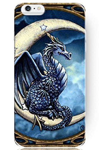 Sprawl New Vintage Design Personalized Hard Plastic Snap On Slim Fit Dragon Baby On New Moon Iphone 6 Case 4.7 Inch front-1038224