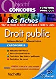 Objectif Concours Fiches Droit Public...