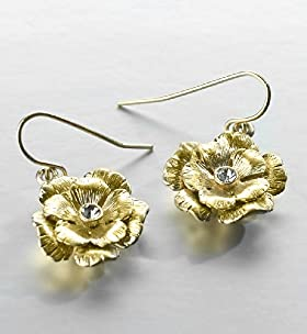 Daisy Drop Earrings - Marks & Spencer