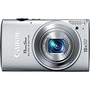 Canon PowerShot ELPH 330 HS 12.1 MP Wi-Fi Enabled CMOS Digital Camera with 10x Optical Zoom 24mm Wide-Angle Lens and 1080p Full HD Video (Silver)