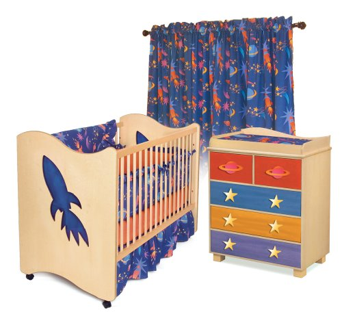 Room Magic Nursery Set, Star Rocket