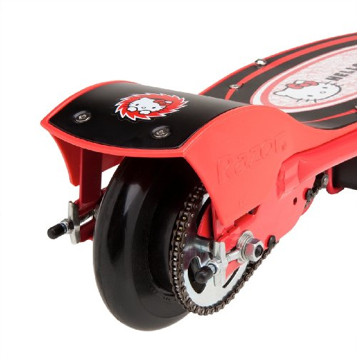 Hello Kitty Electric Car Motor: Razor E100 Electric Scooter (Hello Kitty Red)