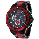 Stuhrling Original Men's 270.332T71 Exclusive Trekker Sportsman Swiss Chronograph Black Dial Watch