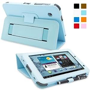 Snugg™ - Étui Pour Samsung Galaxy Tab 2 7.0 - Housse Avec Support Pied Et Une Garantie à Vie (En Cuir Bleu) Pour Samsung Galaxy Tab 2 7.0