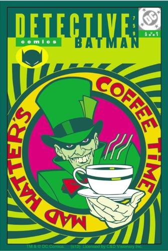 Licenses Products DC Comics Batman Mad Hatter Sticker - 1