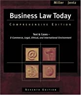 Business Law Today by Miller