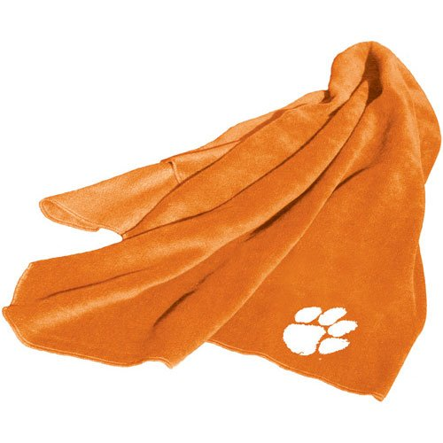 Clemson Tigers NCAA Fleece Throw Blanket at Amazon.com