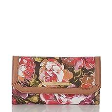 Soft Checkbook Wallet<br>Pink Hemingway