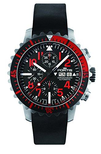 Fortis B-42 marine Master cronografo rosso 671,23,43 K